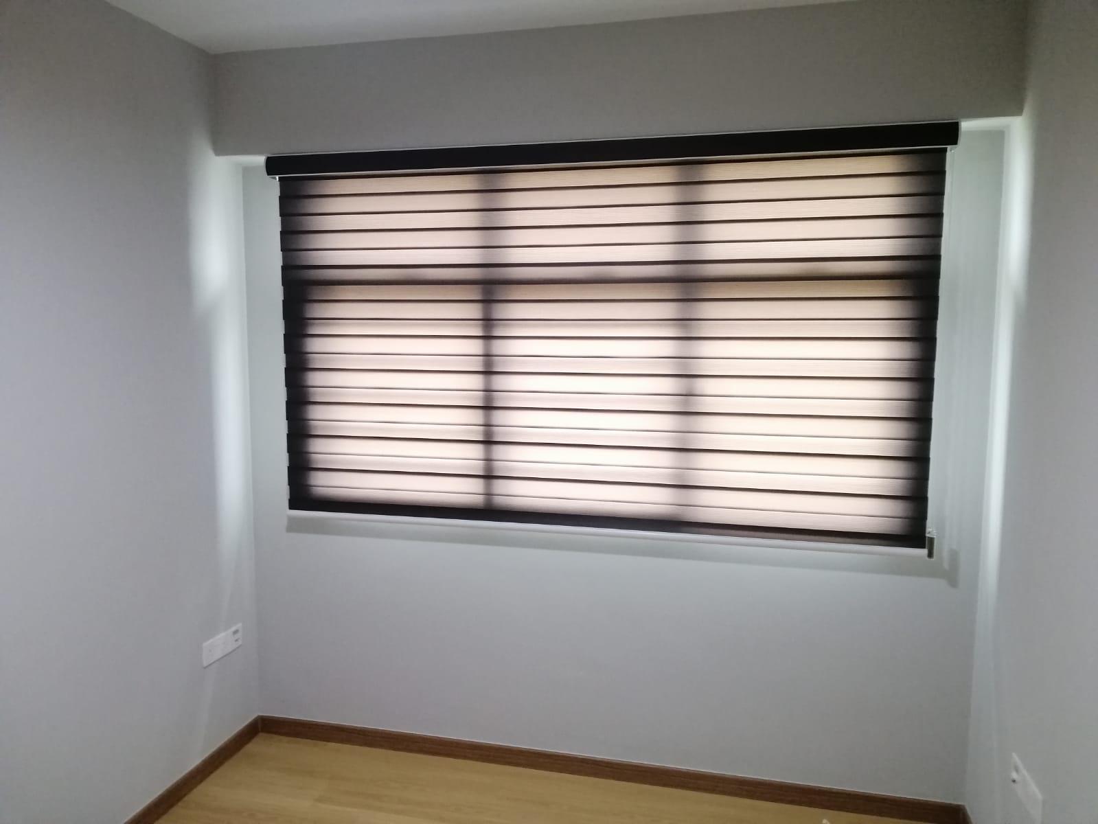 Korean Blinds Bedroom Blinds Installation Curtains House Singapore HDB – Serangoon