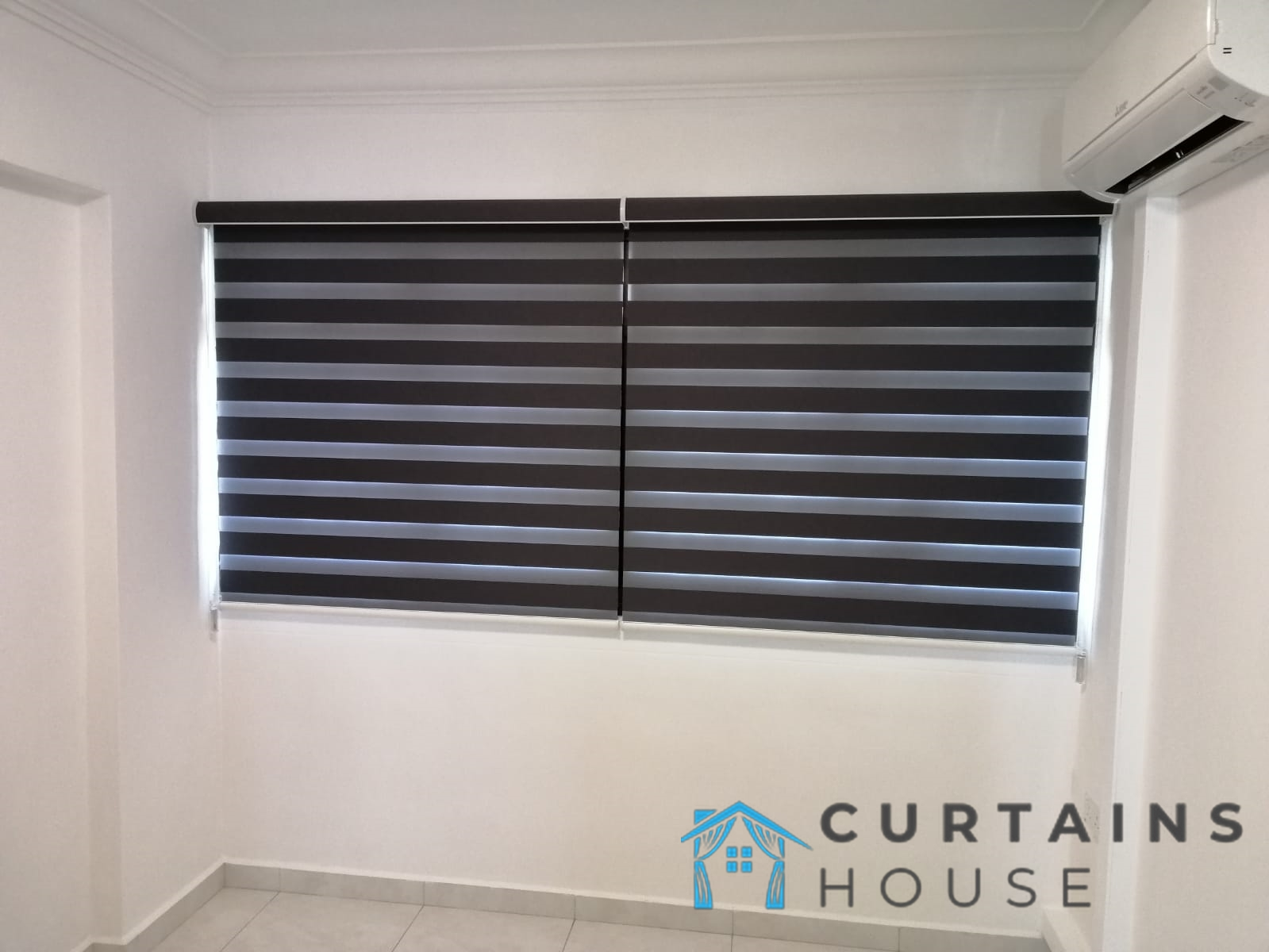 Korean Blinds Blackout Series Bedroom Blinds Installation Curtains House Singapore HDB- Redhill