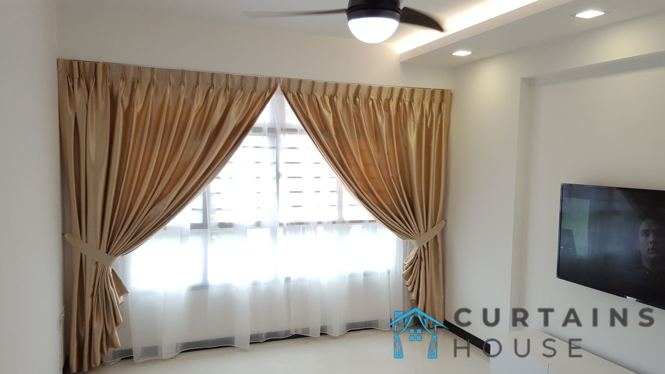 Day And Night Curtain Living Room and Bedroom Panel Pair Curtains House Singapore Condo – Orchard