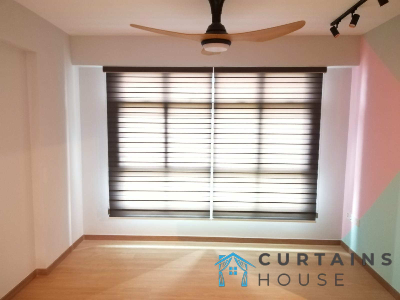 Korean Blinds Living Curtains House Singapore HDB – Bishan