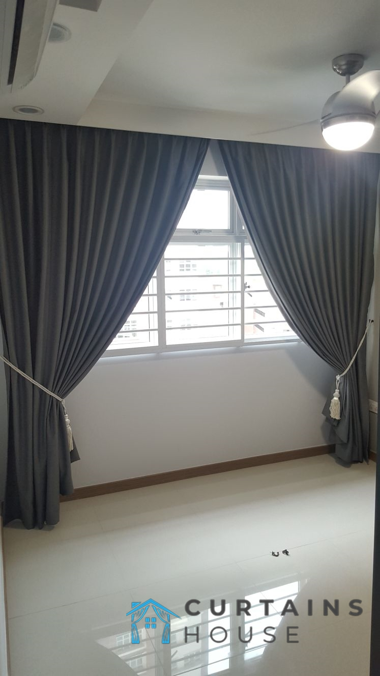 Blackout Curtains Living Room Panel Pair Curtains House Singapore HDB – Choa Chu Kang
