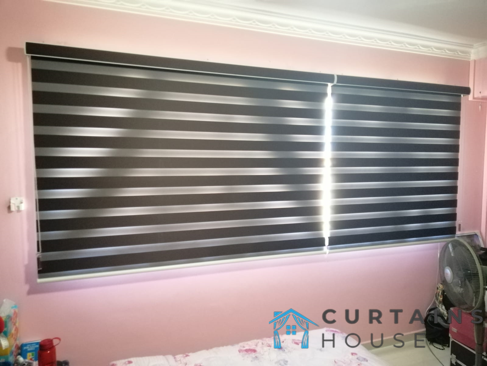Korean Blinds Bedroom Blinds Installation Curtains House Singapore HDB – Tampines